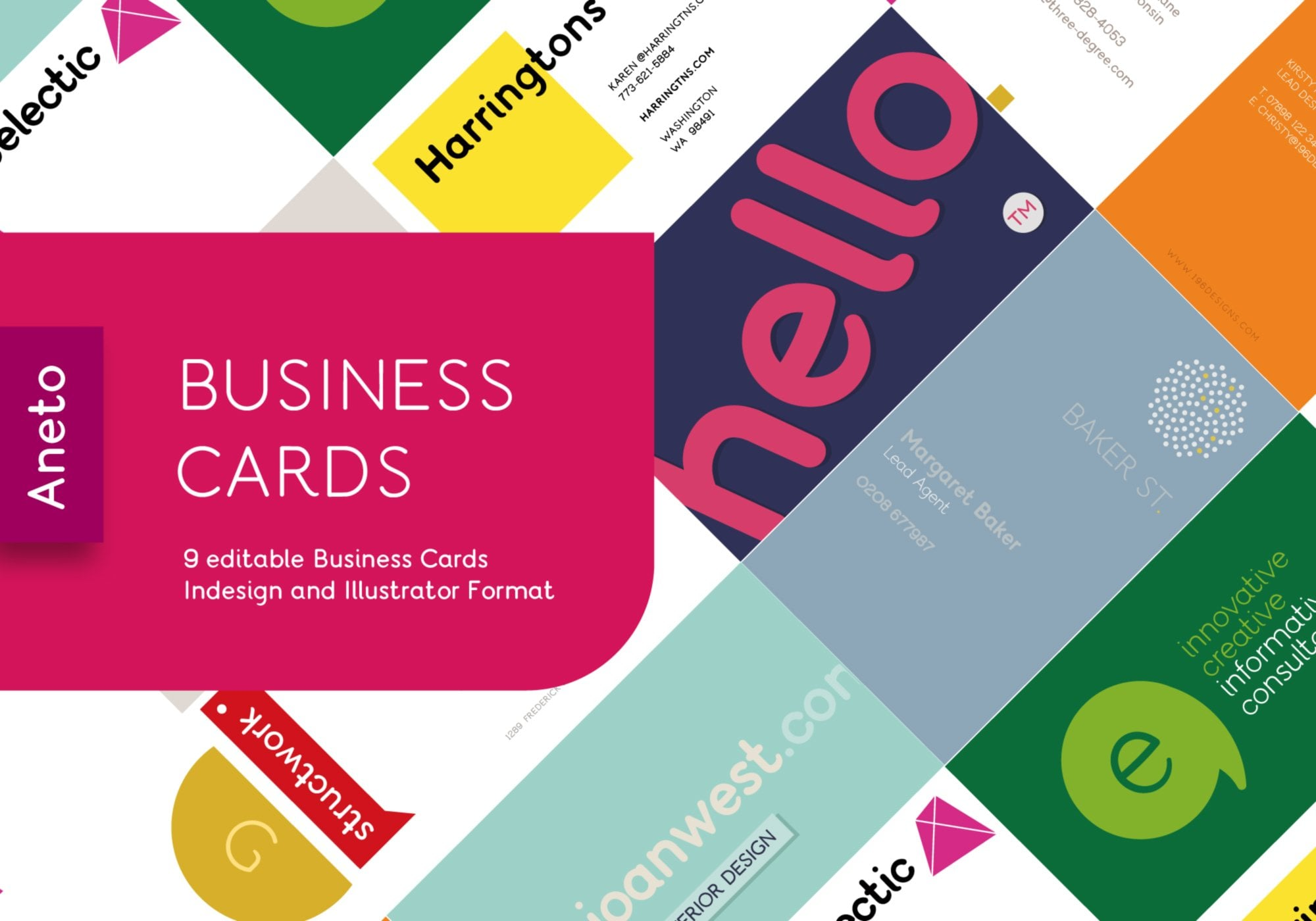Editable Business Card Templates