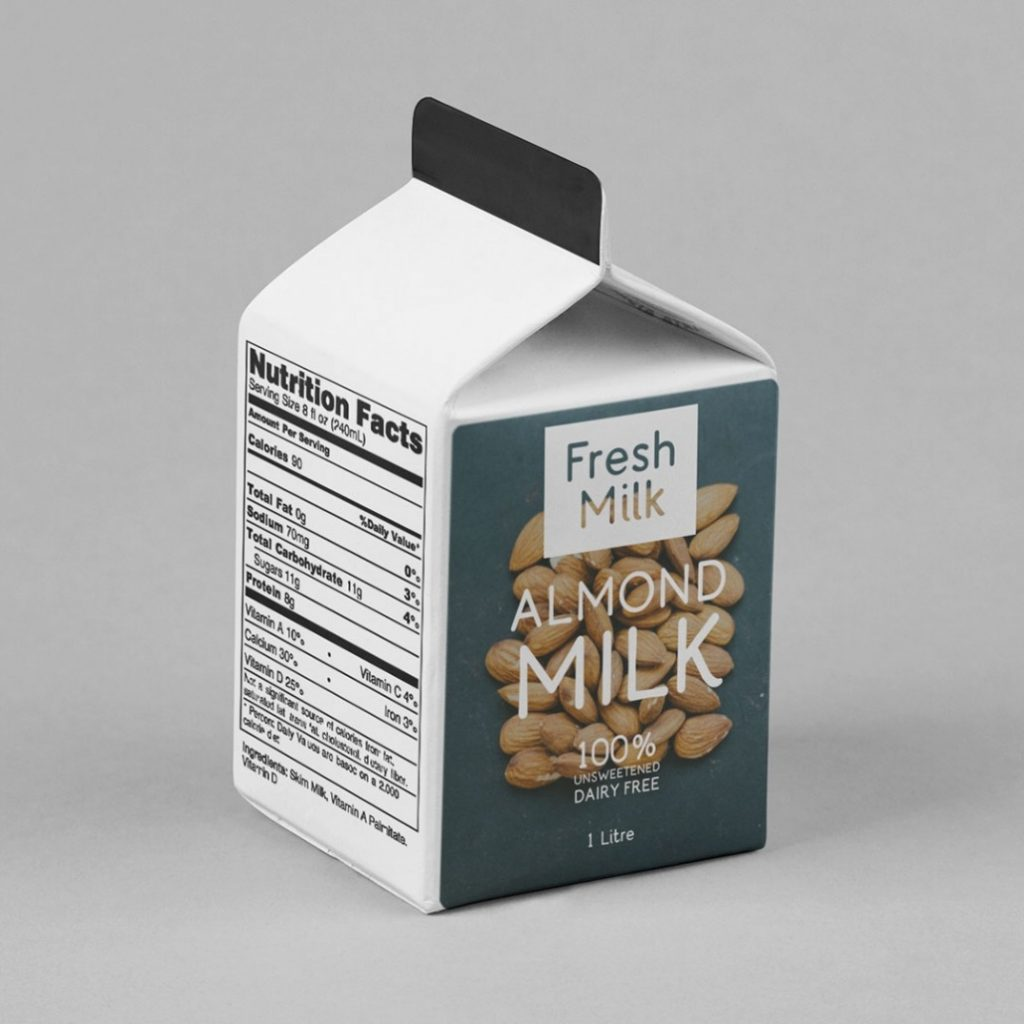 Fresh Packaging featuring Aneto font