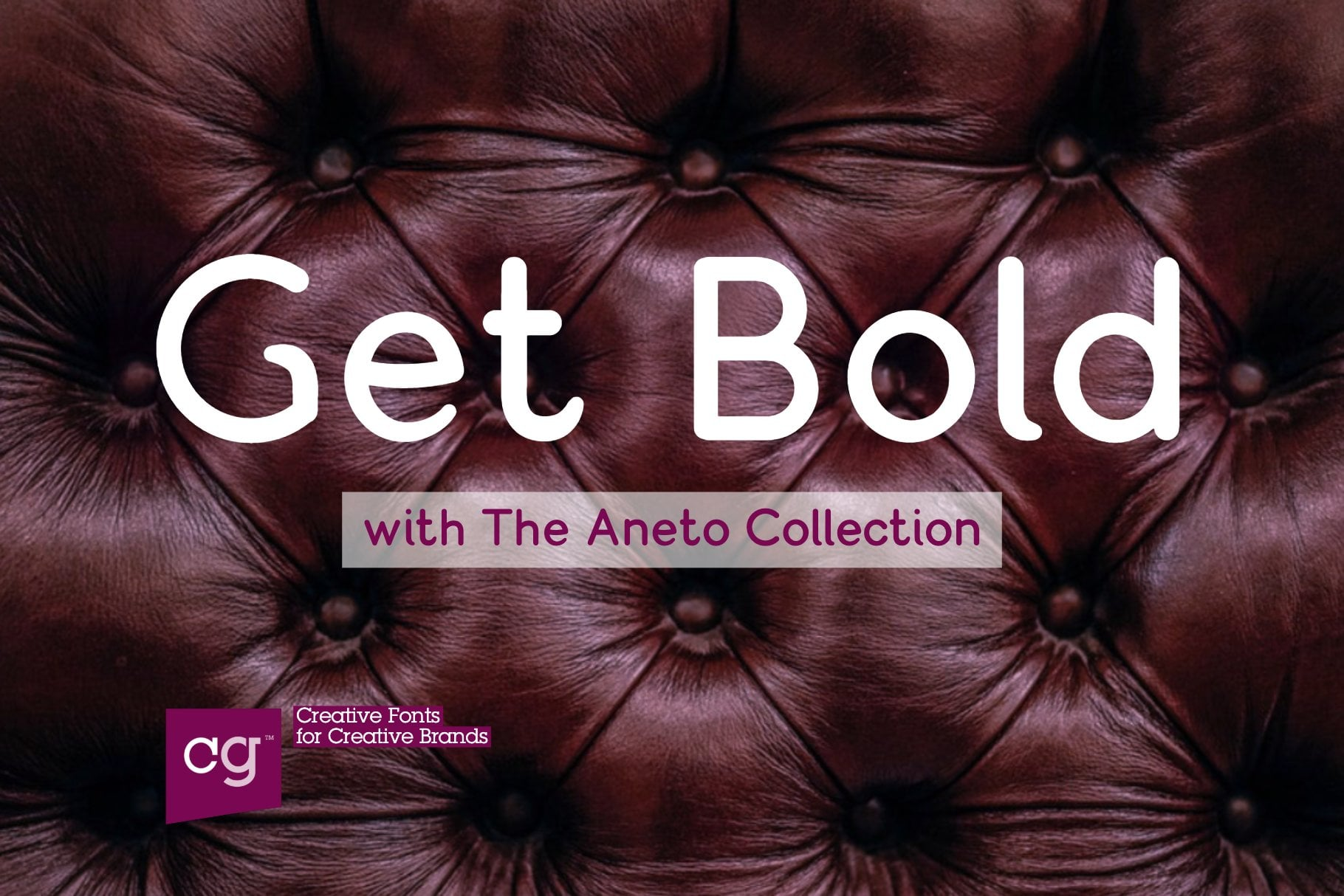 Bold Rounded font Aneto