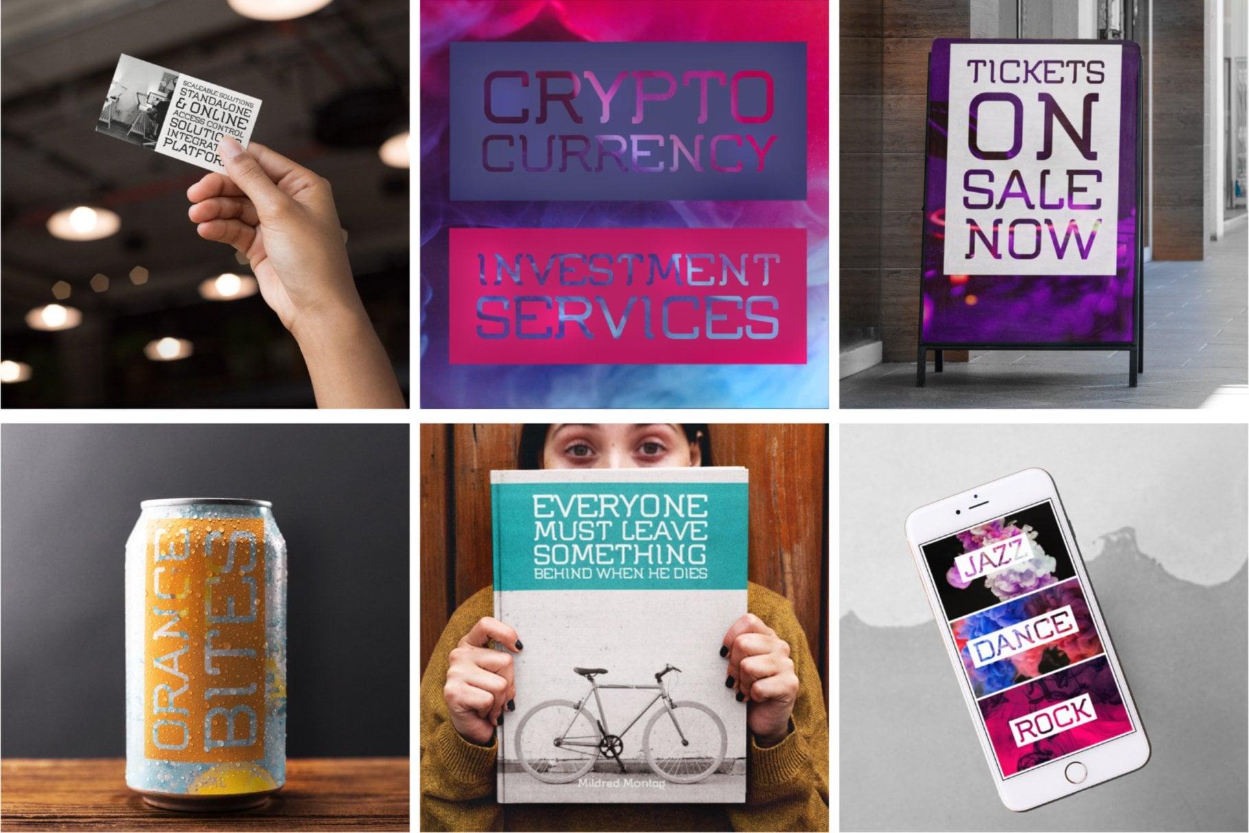 Digital Corporate Design Typeface in use