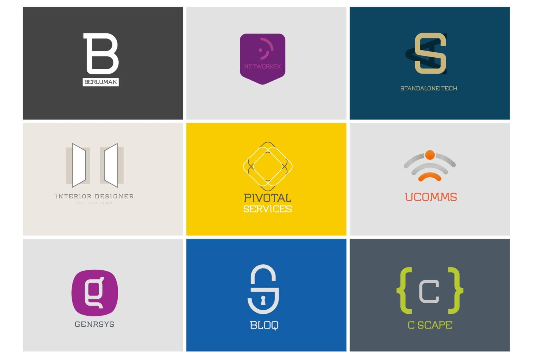 Editable Logos using Flumen Digital Corporate Designs