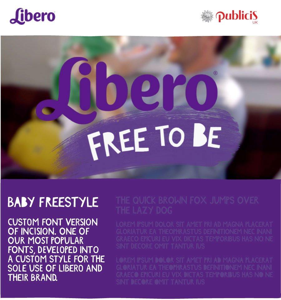Libero Brand Typeface Design
