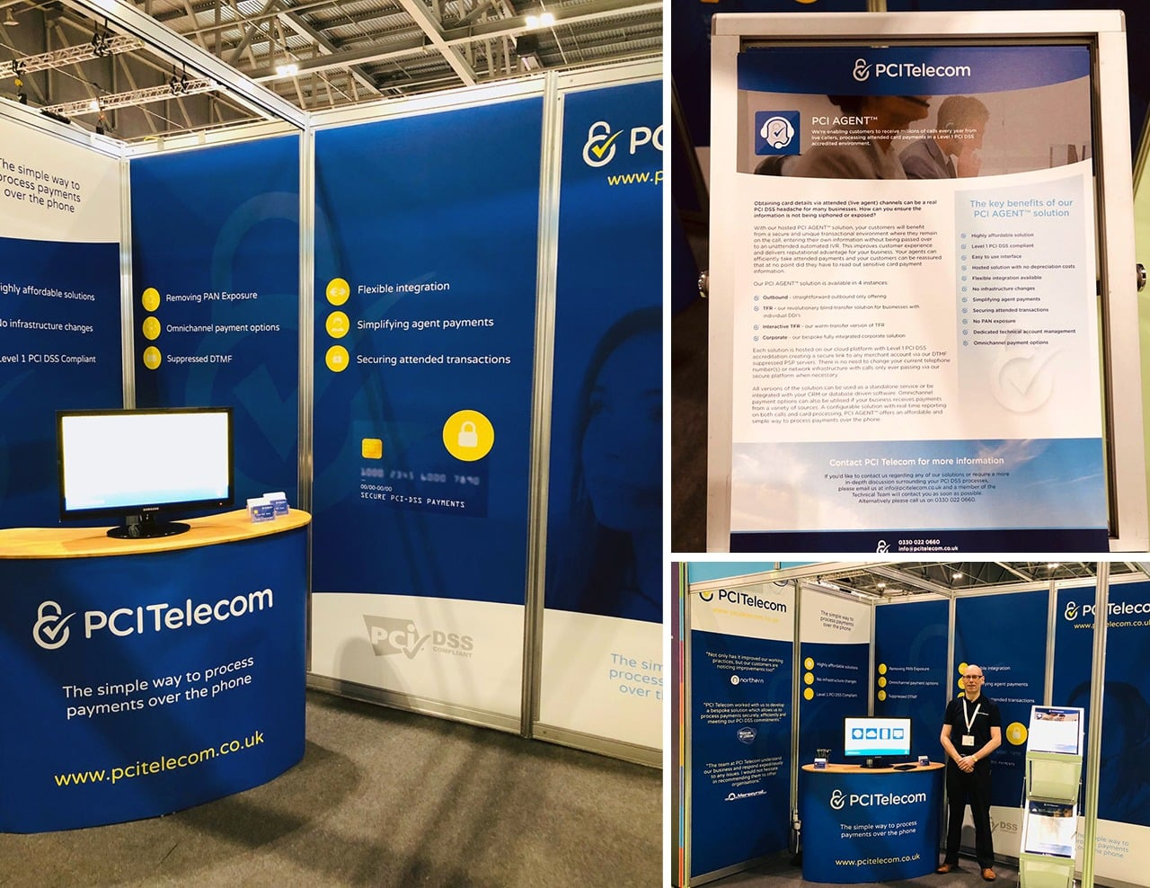 Exhibition Graphics Design for Telecoms Company