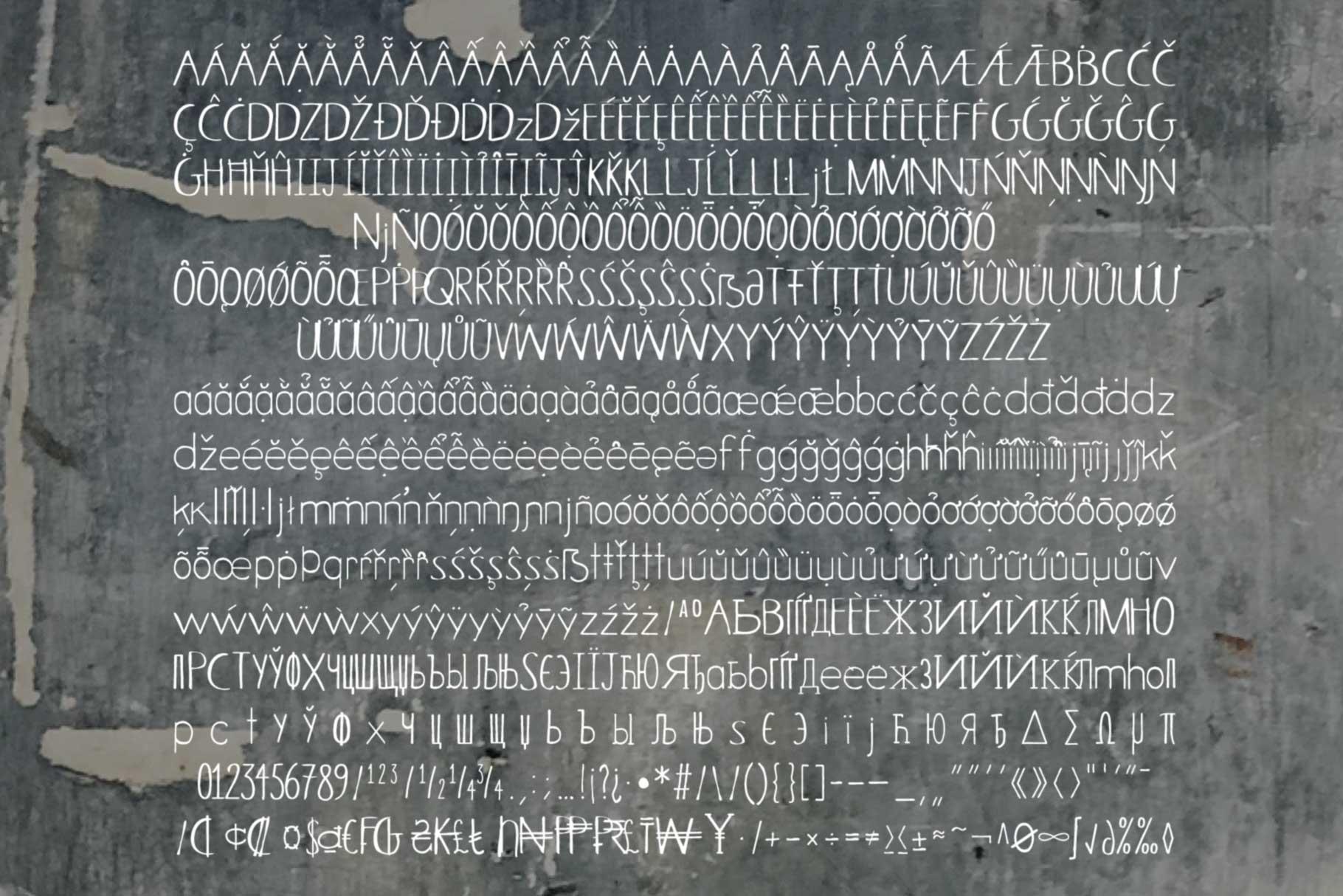 Selva Regular Font Set