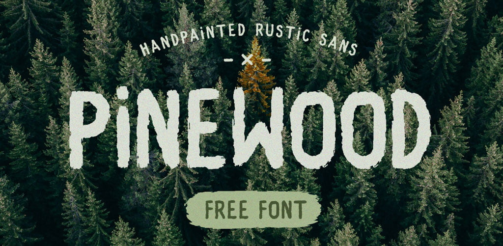 Pinewood Rustic Vintage Free Font
